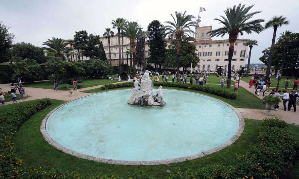 Giardini del quirinale roma aeterna official - I giardini del quirinale ...
