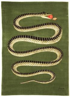 Amiano il Serpente rug by Fornasetti