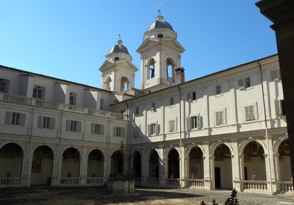 Convento_Trinita_Monti_Chiostro