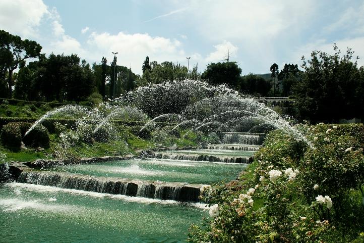 Giardino delle cascate all eur roma aeterna official - Cascate per giardino ...