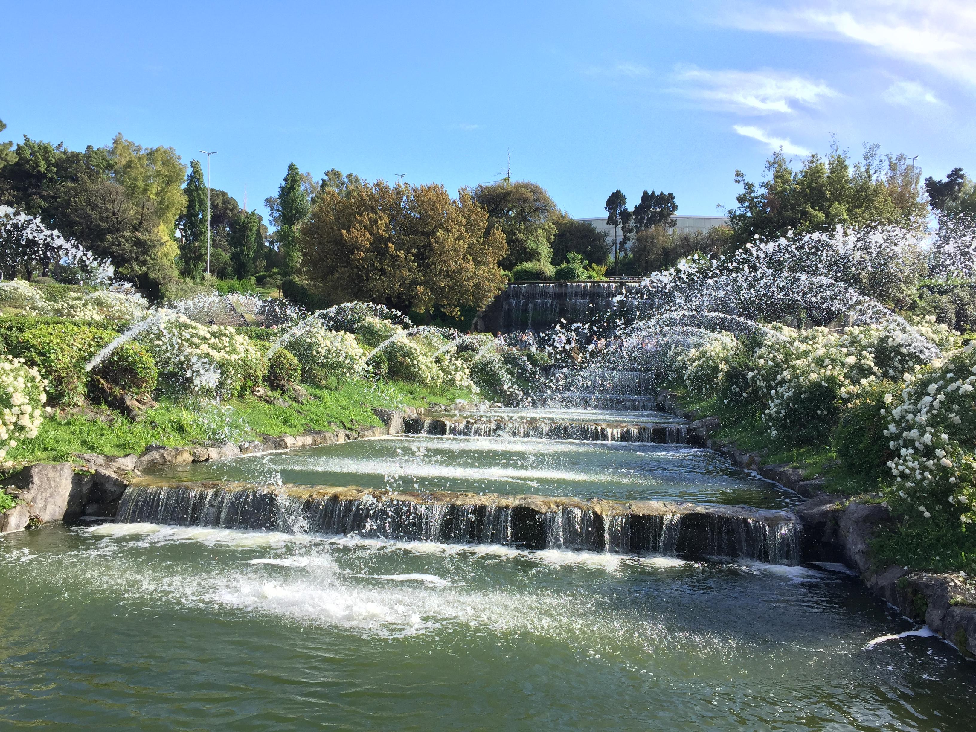 Cascata Da Giardino Moderna : Giardino delle cascate e la passeggiata giappone all eur u roma