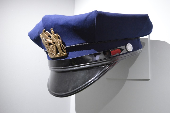 Erwin Wurm New York Police Cap Gold