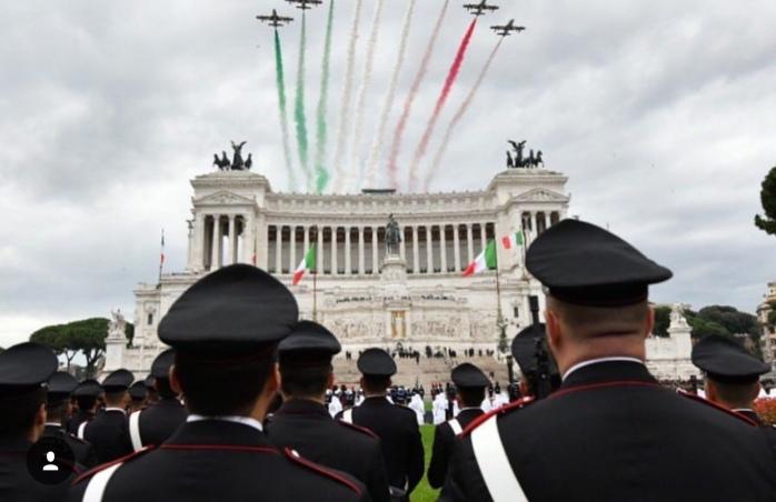 4 novembre Giornata Forze Armate Roma