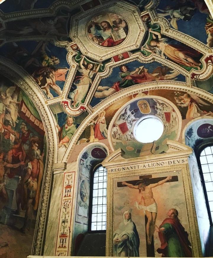 Ciclo di affreschi del Convento dei Santi Quattro Coronati