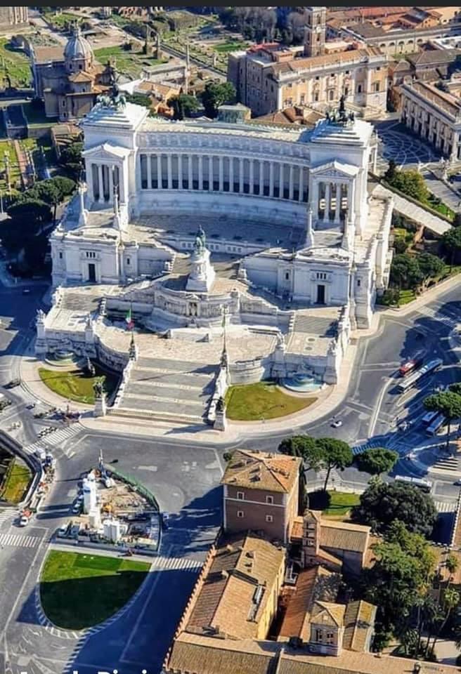 ROMA VISTA DALL'ALTO IMMAGINISUGGESTIVE