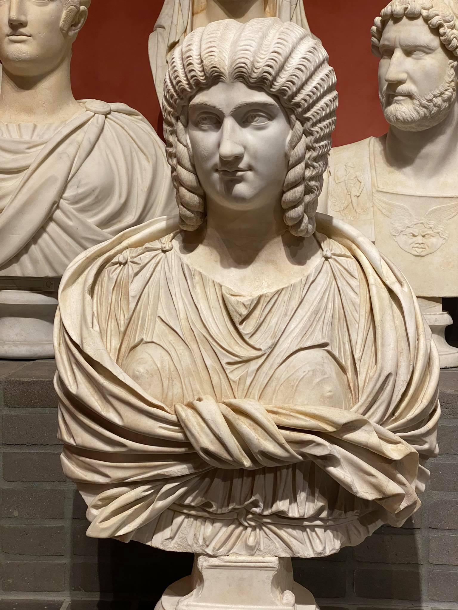 Busto marmo collezione torlonia